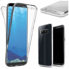 Clear TPU Front + Back 360° Full Body protection Case For Samsung Galaxy Note 8