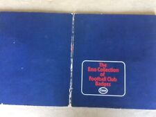 ESSO FOOTBALL CLUB BADGES WITH 27 OUT OF 76 BADGES ON PRESENTATION CARD (4)