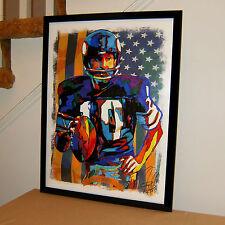 Fran Tarkenton, Minnesota Vikings, Quarterback, Football, 18x24 POSTER w/COA 1