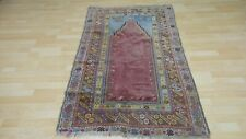 "ANTIQUE Turkish Anatolian CARPET RUG HAND MADE Oriental c1880 5FT 7"" X 3FT 6"""