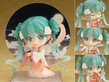 New Anime Vocaloid Hatsune Miku Moon Cake Nendoroid Figure Figurine 10cm No Box