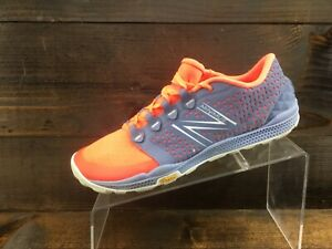 New Balance Minimus Womens Orange Running Casual Shoes Ladies Size 10 Excellent