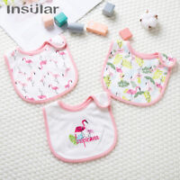Cotton Baby Bibs Waterproof Bib Bandanna Saliva Towel Infant Burp Cloths Feeding