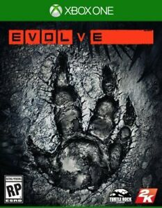 Evolve (Microsoft Xbox One, 2015) Comes with Slipcover