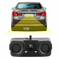 3 In 1 170° Night Vision Rearview Backup HD Camera Radar Car Parking Sensor Kit