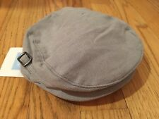 Janie and Jack cap, hat infant baby 0-6 month , Gray, Brand New