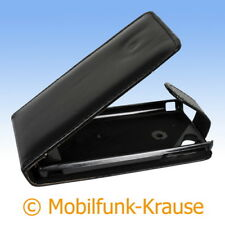 Funda abatible, funda, estuche, funda para móvil F. Sony Ericsson lt18/lt18i (negro)