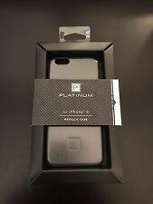 Platinum - Brushed Metal Case for Apple iPhone 6 - Gunmetal - New In Box