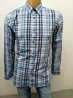 Camicia HUGO BOSS Uomo taglia size XL slim fit shirt man chemise maglia polo5494