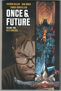 "ONCE and FUTURE VOL. 2 (Boom! - 2020) ""Old English"" Gillen & Mora TPB NM"