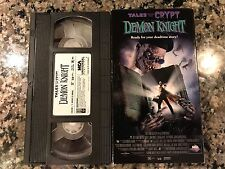 Tales From The Crypt A Demon Knight Vhs! 1995 Horror! Pet Sematary Evil Dead 2