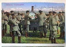 Y 37- Patriotika, WW1 , Feldküche, Essensausgabe, Feldpost 13.03.1916 gelaufen