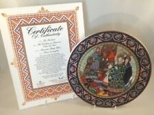 Villeroy Boch Russian Fairy Tale Plate + Cert & Box Wedding Of Tsarevna Elena