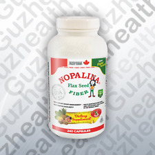 Nopalina Flax Seed Plus Fiber 240 CAPSULES