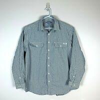 RM Williams Stockyard Relaxed Fit Dress Shirt Size Men's XXL 2XL