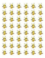 "48 CUTE COUNTRY BUMBLE BEE ENVELOPE SEALS LABELS STICKERS 1.2"" ROUND"