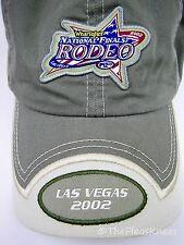 "Green NFR 2002 RODEO Las Vegas Cap Hat ""National Finals Rodeo"""