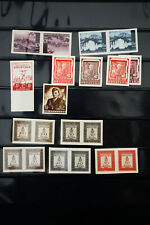 Croatia Wartime Imperforate Stamp Lot