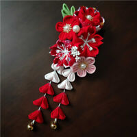 Chinese Style Hanfu Flower Hair Accessories Kimono Hair Clip Hand Made