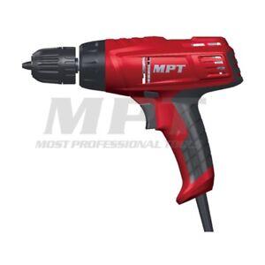 MPT Electric Drill H/Speed 10mm 300 Watt Keyless