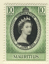 Elizabeth II (1952-Now) Single Mauritian Stamps