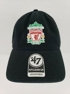 Liverpool Football Club 47 Brand Adjustable Hat Cap Lid Soccer Embroidered Logo
