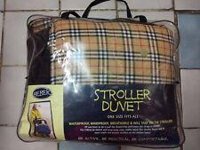 Beber Lattice Stroller Duvet-- One Size Fits All