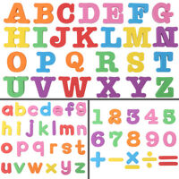 Colorful Kids Alphabet Numbers Fridge Magnet Child Educational Toy Cute Lovely❤o