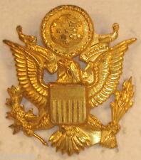 US ARMY OFFICER HAT CAP BADGE INSIGNIA DEVICE DEFECTIVE UNIQUE RARE