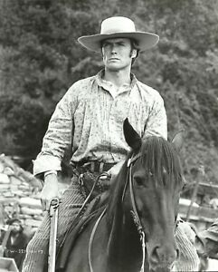 """CLINT EASTWOOD in """"Paint your Wagon"""" Original Vintage Photograph 1969"""