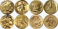 Alexander,  4 Famous Greek Coins, Percy Jackson Fans, Greek Mythology (4ALEX-G)