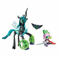My Little Pony Guardians of Harmony Queen Chrysalis v. Spike the Dragon NEW