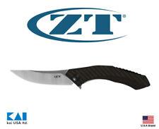 "Zero Tolerance 0460 Folding Knife 3.25"" S35VN Bronze carbon fiber Handle"