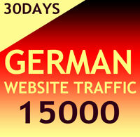 15000 German Website Aurufe Daily 400-500 - Organic targeted german web traffic