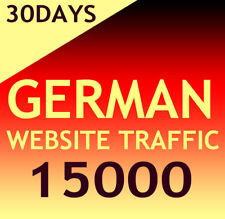 15000 German Website Aurufe Daily 400-500 - Organic targeted german web traffic