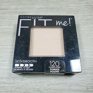 Maybelline Fit Me! Set & Smooth Pressed Powder 120 Classic Ivory