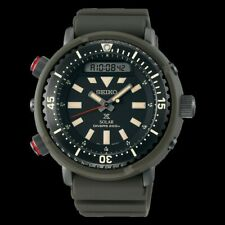 Seiko Urban Safari Series Arnie Solar Tuna Green Diver's Men's Watch SNJ031P1