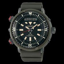 Seiko Urban Safari Series Arnie Solar Tuna Green Diver's Men's Watch SNJ031P1