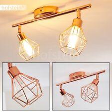 Retro Design Decken Lampe Kupfer Wohn Schlaf Zimmer Strahler Flur Dielen Leuchte