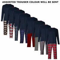 Mens M&S Marks Spencer Pyjamas Long Sleeve Top Trousers PJ Nightwear Loungewear
