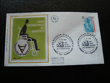 ANDORRE (francais) - enveloppe 1er jour 7/11/1981 (handicapes) (cy63) andorra(Z