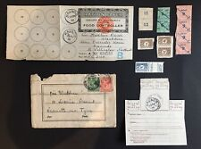 More details for rare 1917 ww1 ration papers coupons sugar, meat & postal history