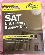 Princeton Review SAT U.S. History Subject Test Prep Book