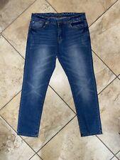 Men's Skinny Carbon Jeans- 34x30