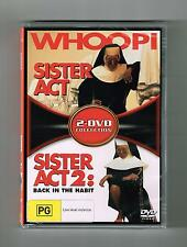 Sister Act / Sister Act 2 - Back In The Habit (2-Movies) Dvds Brand New & Sealed
