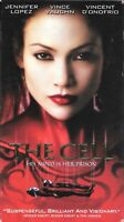 The Cell (VHS)* With Bonus Footage