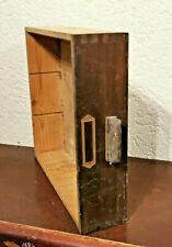 Alte urige Schublade mit Griff ,Schubkasten Holzkasten 35x31,5x8,5cm BxTxH R.Nr5