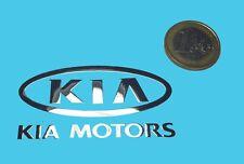 KIA METALLIC CHROME EFFECT STICKER LOGO AUFKLEBER 60x30mm [808]