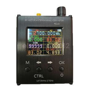UV RF Vector Impedance ANT SWR Antenna Analyzer 137.5MHz 2.7GHZ N1201SA