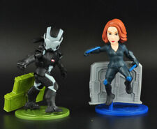 2pcs Marvel Age of Ultron Black Widow Iron man Refrigerator magnet Figures Toys